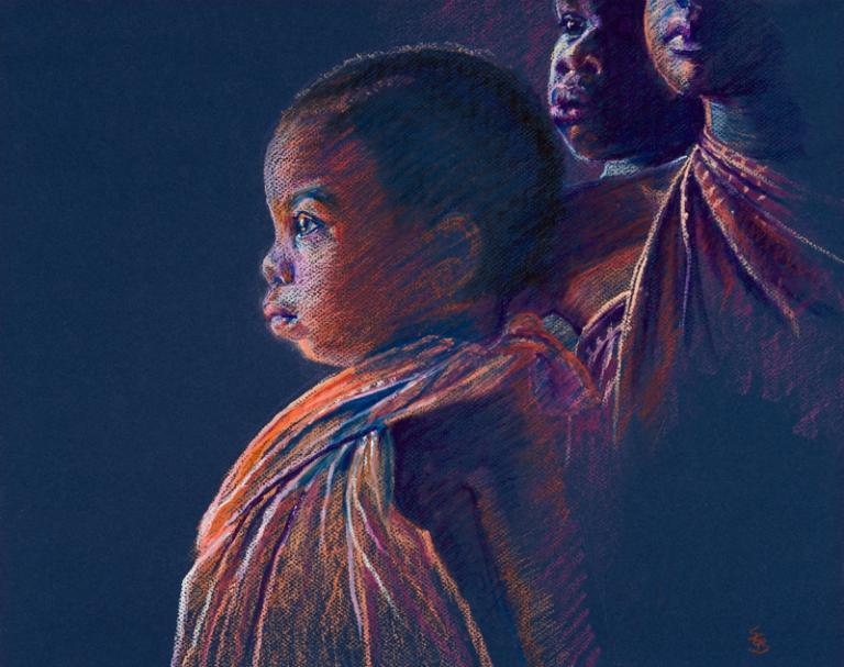 African Children Artwork
