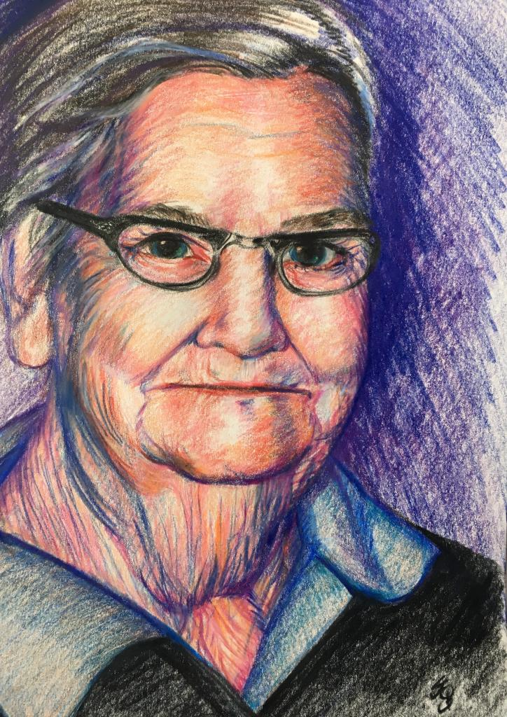 Drawing of Grammy