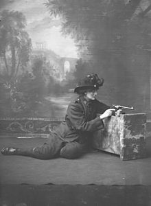 Constance Georgine Markievicz (Polish: Markiewicz [marˈkʲɛvitʂ]; née Gore-Booth; 4 February 1868 – 15 July 1927), known as Countess Markievicz, was an Irish politician, revolutionary, nationalist, suffragist, socialist, and the first woman elected to the Westminster Parliament,