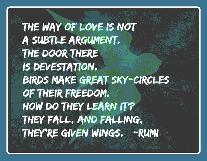 the way of love by rumi
