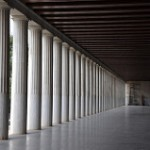 """Stoa"" is the Greek word for ""porch."""