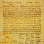 1996 --- Original Declaration of Independence --- Image by © Joseph Sohm; Visions of America/CORBIS