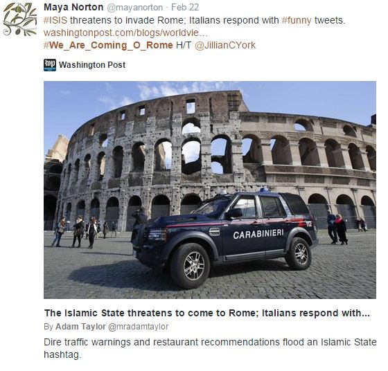 We Are Coming - Carabinieri
