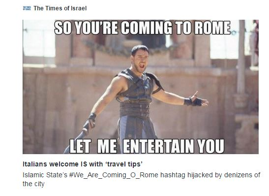 We Are Coming - Gladiator