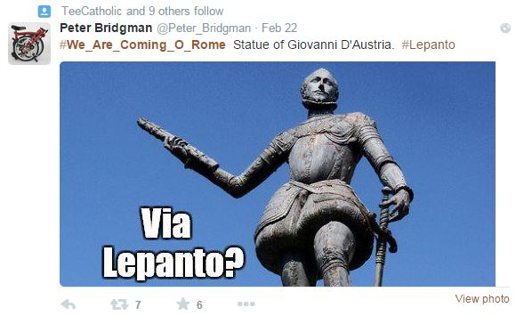 We Are Coming - Lepanto