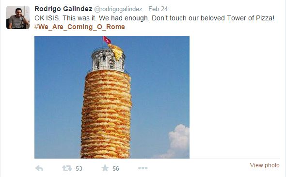 We Are Coming - Tower of Pizza