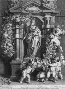 MARY, QUEEN OF HEAVEN by Cornelis Galle (I) [Public domain], via Wikimedia Commons