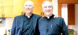 Fr. Joseph Illo and Fr. Patrick Driscoll, Star of the Sea Catholic Church (Photo from Facebook)