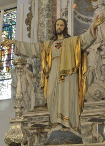 Sacred Heart of Jesus  statue in Arco