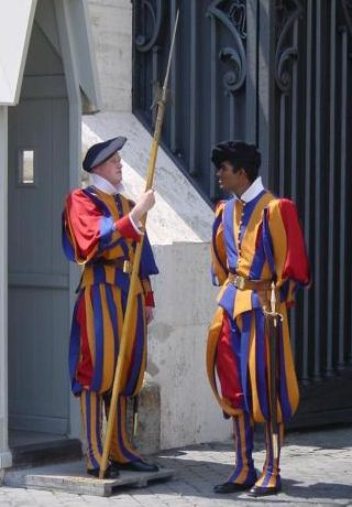 Vatican - Swiss Guards