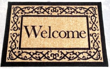 Amazon welcome mat 1