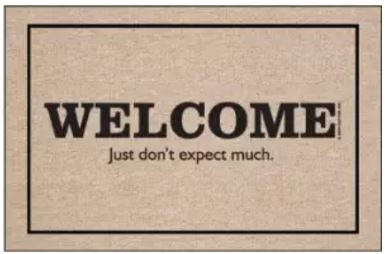Amazon welcome mat 4