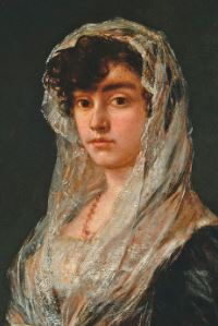 Goya - Young Lady Wearing a Mantilla