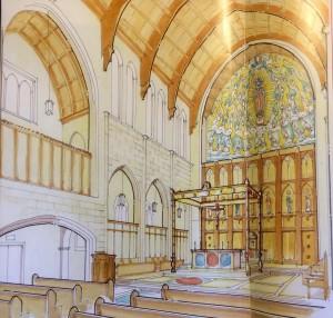 Proposed Restoration of Chapel at Josephinum Seminary
