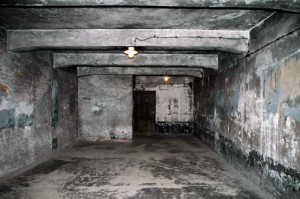 The Gas Chamber at Auschwitz