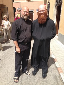 With Br Augustine in Norcia