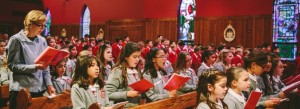School Mass at Atonement Academy