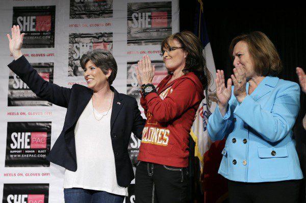 Joni Ernst Sarah Palin