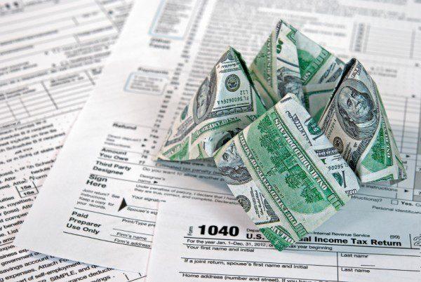 origami money iStock_000024580829