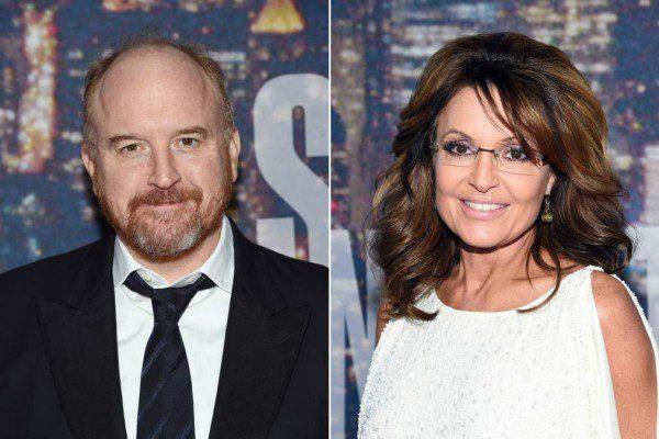 Louis C.K. Sarah Palin   Louis CK GQ   Louis CK Tonight Show
