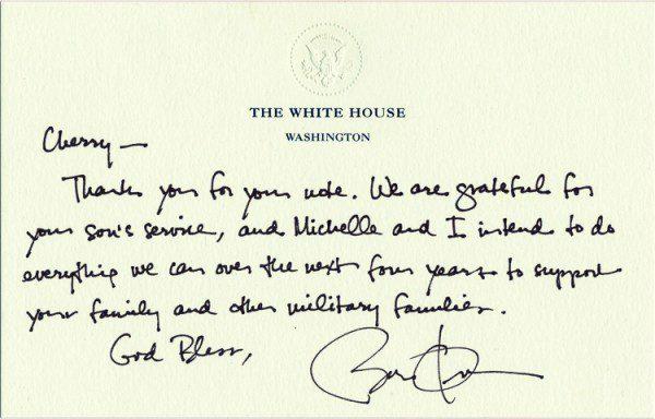 obama letter