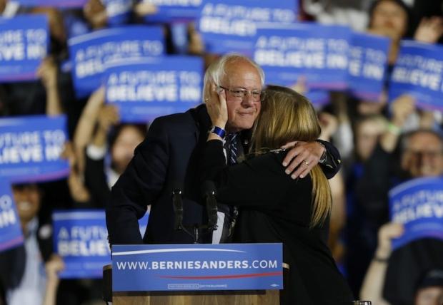 Bernie Sanders, Santa Monica CA on June 7th 2016