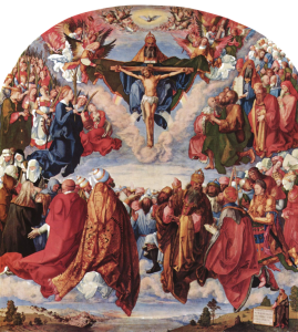 """Durer's """"Adoration of the Trinity"""" captures some of the grandeur of Catholic faith"""