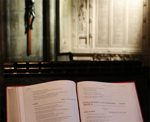 book in church