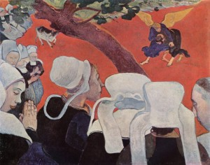 Vision After the Sermon (1888), Paul Gauguin
