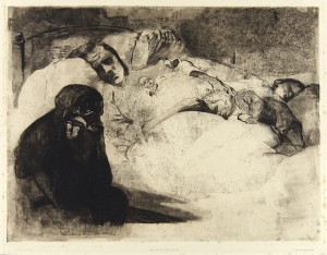 Unemployment (1909), Kathe Kollwitz
