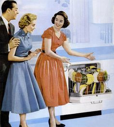 1950s Dishwasher