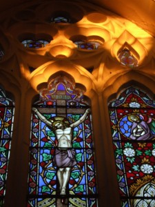 Stained Glass Window and Light