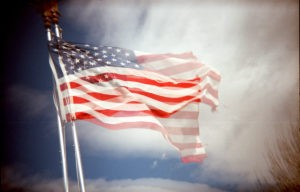 Pat Hawks flag