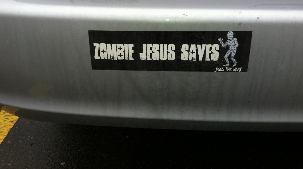 Zombie Jesus Saves