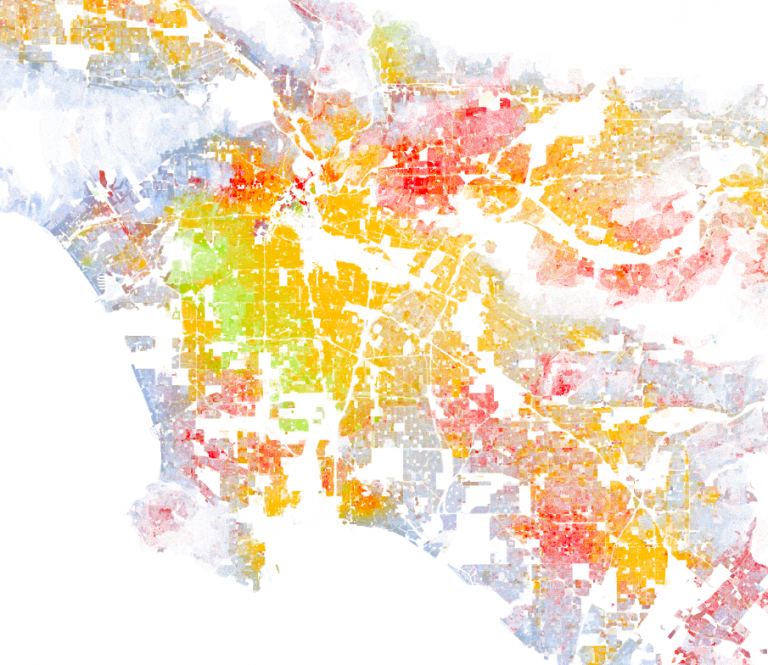 The Most Sobering Thing about the Racial Dot Map | Libby Anne