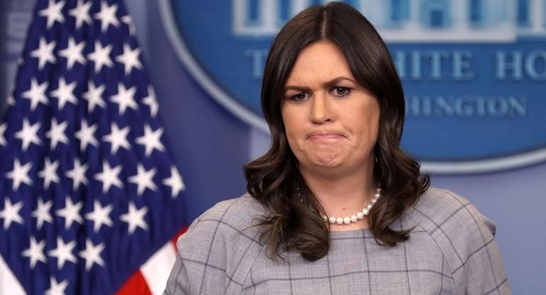 Sarah Huckabee Sanders Is Upset Women Aren't Supporting Her Because She's a Woman