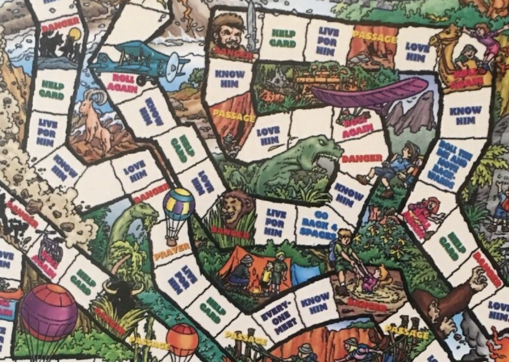 This Missionary Adventure Board Game Has Dinosaurs  Libby Anne