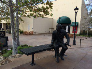 George Pepperdine Statue at Pepperdine University (Photo: Miles Mullin)