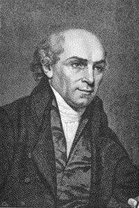 Engraving of William Carey (1761-1834) Public Domain via Wikipedia