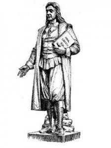 Stature of Roger Williams by Franklin Simmons (Public Domain)