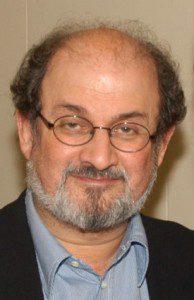 Salman Rushdie (By Kyle Cassidy via Wikimedia Commons)