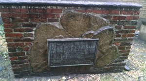 Grave Marker of Robert Keayne