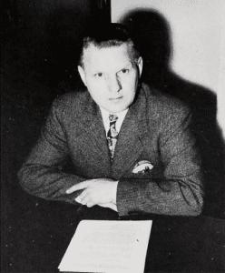 C. Emanuel Carlson in 1950