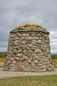 Culloden battlefield memorial