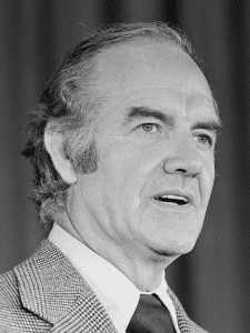 George McGovern -- courtesy of Wikimedia Commons and the Library of Congress