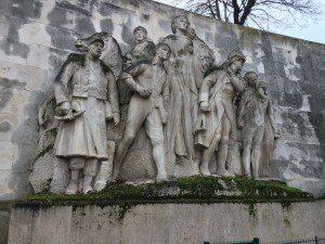 """Landowski, """"Monument to the Glory of French Armies"""""""