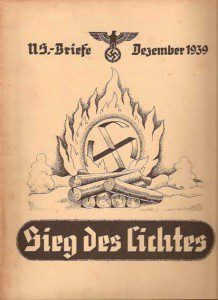 December 1939 cover of N.S. Briefe