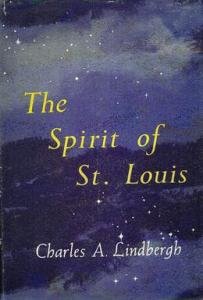 Cover of the first edition of Spirit of St. Louis