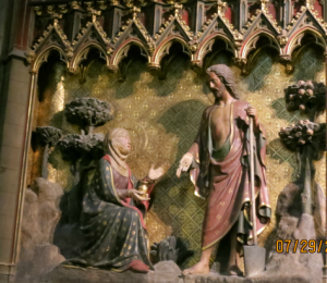 Notre Dame Mary Magdalene and Jesus