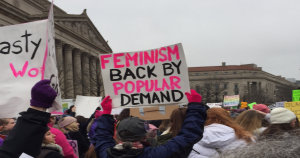 Photo: Kristin DuMez, Women's March 2016